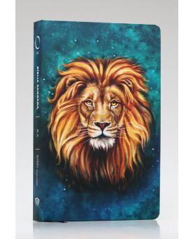 Bíblia Sagrada | RA | Letra Grande | Soft Touch | Leão Aslam