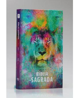 Bíblia Sagrada | King James 1611 | Letra Média | Capa Dura | Leão Color