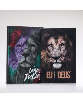 Kit Leão de Judá | Bíblia + Eu e Deus Eu Sou