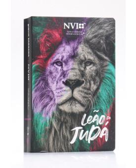 Bíblia Sagrada | NVI | Letra Hipergigante | Semi-Flexível | Leão de Judá