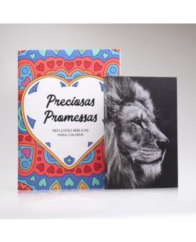 Kit Promessas Sagradas   Leão Hebraico