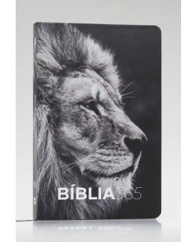 Bíblia 365 | NVT | Letra Normal | Capa Dura | Leão Hebraico