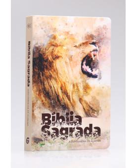 Bíblia Sagrada | RC | Letra Grande | Capa Dura | Leão