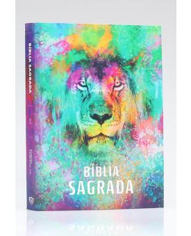Bíblia Para Evangelismo Premium | ACF | Letra Média | Capa Brochura | Leão Color