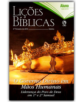 Revista | Escola Bíblica Dominical | Adultos | Aluno | 4° Trimestre | 2019