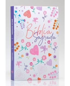 Bíblia Sagrada | NVI | Letra Média | Capa Dura | Little Flower