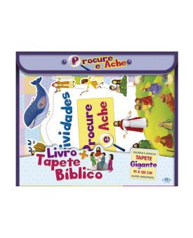 Livro+Tapete Bíblico   Procure e Ache   SBN
