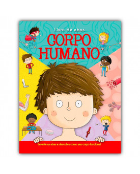 Livro de Abas | Corpo Humano | Ciranda Cultural
