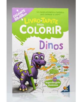 Livro - Tapete Para Colorir | Dinos | Todolivro