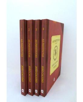 Kit 4 Livros | As Institutas de João Calvino | Cultura Cristã