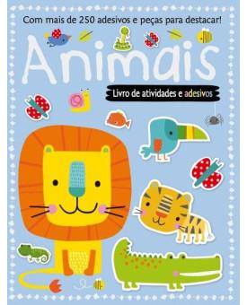 Livro de Atividades e Adesivos | Animais | Ciranda Cultural