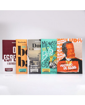 Kit 5 Livros | Machado de Assis | Para Vestibular