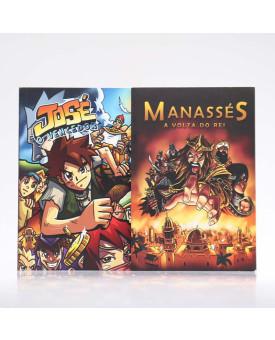 Kit 2 Livros | Mangá | José e Manassés
