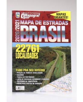 Mapa de Estradas Brasil | 2020-2021