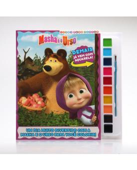 Masha e o Urso   Livro Para Pintar