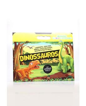 Megapad Colorir & Atividades   Dinossauros   Brasileitura