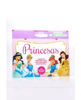 Megapad Colorir & Atividades   Princesas   Brasileitura