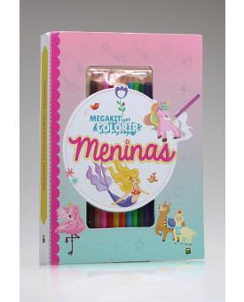 Megakit Para Colorir | Meninas | Brasileitura