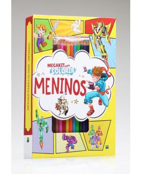 Megakit Para Colorir | Meninos | Brasileitura