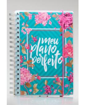 Meu Plano Perfeito | 4º Edição | Capa Flores | Planner Permanente