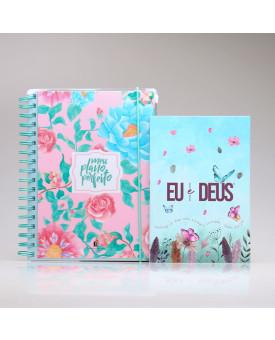Kit Meu Plano Perfeito Floresça + Eu e Deus Jardim Secreto | Tempo Diário