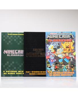Kit 3 Livros | Almanaques Minecraft