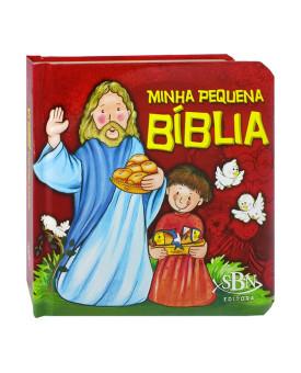 Minha Pequena Bíblia   Capa Dura Almofadada   SBN