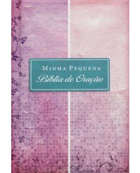 Minha Pequena Bíblia De Oração | Almofada | Rosa/Lilás