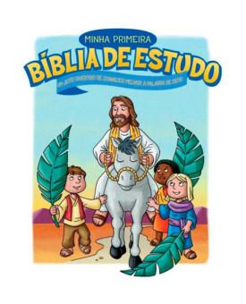 Minha Primeira Bíblia de Estudo | Capa Dura | Ilustrada