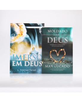 Kit 2 Livros | Imerso em Deus + Moldado Por Deus