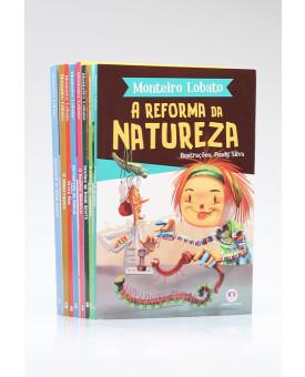 Kit 8 Livros | Clássicos Infantis de Monteiro Lobato | Edição 2