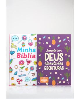 Kit Jornada com Deus Através das Escrituras Divertida | Minha Bíblia