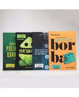 Kit 4 Livros | Obras Essenciais da Literatura Nacional | Para Vestibular
