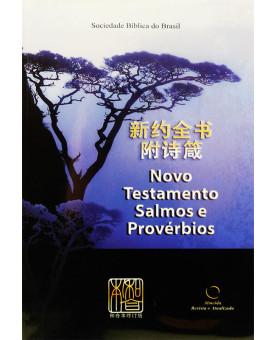 Bíblia Novo Testamento, Salmos e Provérbios   RA   RCUV Chinês   Luxo