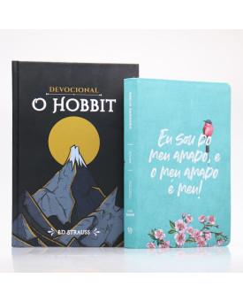 Kit Bíblia NVI Letra Gigante Meu Amado + Devocional O Hobbit | Aventuras Diárias