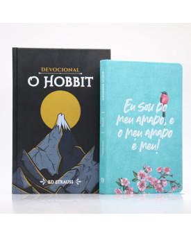Kit Bíblia NVI Letra Normal Meu Amado + Devocional O Hobbit | Aventuras Diárias