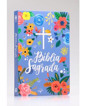 Bíblia Sagrada | NVT | Letra Normal | Capa Dura | Céu Azul
