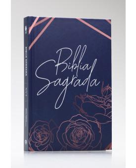 Bíblia Sagrada | NVT | Letra Média | Capa Dura | Rose Gold