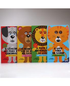 Kit 4 Livros | Gire o Disco! | Todolivro