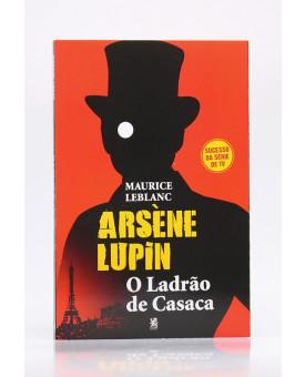 Arsène Lupin | O Ladrão de Casaca | Maurice Leblanc | Capa Vermelha