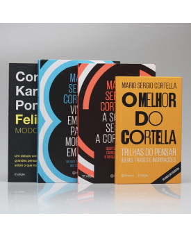 Kit 4 Livros | O Melhor de Cortella | Vol. 3 | Mario Sergio Cortella