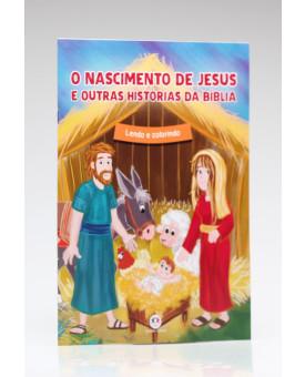 Lendo e Colorindo | O Nascimento de Jesus e Outras Histórias da Bíblia | Ciranda Cultural