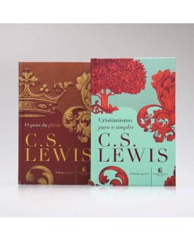 Kit 2 Livros | Cristianismo Puro e Simples + O Peso da Glória | C. S. Lewis