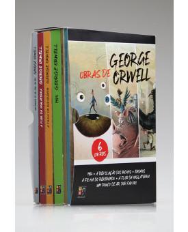 Box 6 Livros | Obras de George Orwell | Pé da Letra