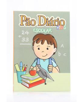 Pão Diário Kids Escolar   Quadro Negro