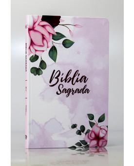 Bíblia Sagrada   RC   Letra Normal   Soft Touch   Pétalas   Slim