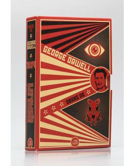 Box 2 Livros | Obras de George Orwell 1984 + A Revolução dos Bichos