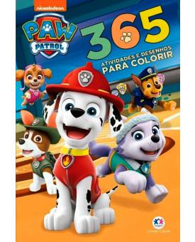 Patrulha Canina   365 Atividades e Desenhos Para Colorir