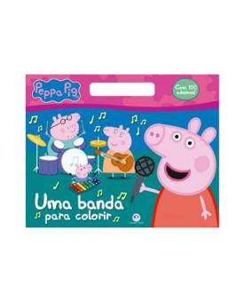 Peppa Pig | Uma Banda Para Colorir | 100 Adesivos | Ciranda Cultural