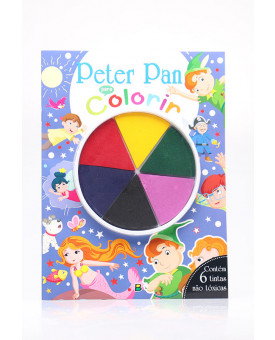 Dedinhos em Ação!   Peter Pan para Colorir   Brasileitura